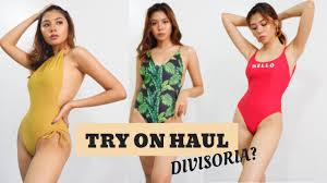 <b>SWIMSUIT</b> TRY ON HAUL FROM DIVISORIA!!! (Lahat less than Php ...