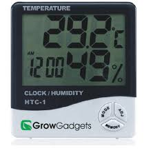 HTC 1 <b>Indoor Room LCD</b> Electronic Temperature Humidity Meter ...