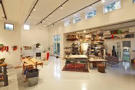 halo track lighting home office modern with art studio artist studio floating shelves glass door ladder art track lighting