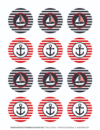 nautical party printables from ian lola designs catch my nautical party printables from ian lola designs