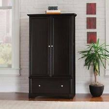 black storage armoire drawer clothes closet antique wardrobe bedroom furniture black antique style bedroom