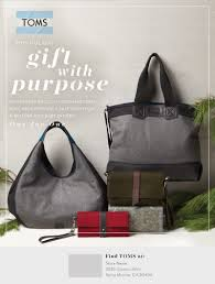 holiday toms bags retail portal general bag print ads
