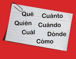 Resultado de imagen para frases interrogativas EN ESPAÑOL