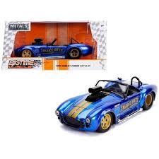 "1965 Shelby Cobra 427 S/C <b>Candy Blue</b> with Gold Stripes ""Snake ..."