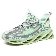 AILADUN Men Sneaker <b>Casual</b> All-match Sports Shoes - Green EU 40