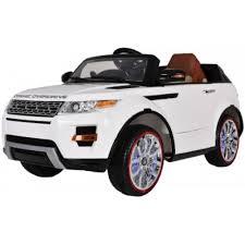 Детский <b>электромобиль Range Rover</b> Luxury White 12V 2.4G ...