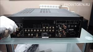 Обзор интегрального усилителя Yamaha A-<b>S1100</b> - YouTube