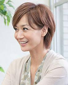 茶髪の富岡佳子