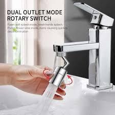 <b>720 Degrees Universal</b> Splash Filter Faucet Spray Head Anti Splash ...