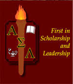 ASL Symbol and Crest:  First in Scholarship and Leadership