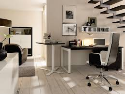 best home office decor ideas with small writing desk under modern wooden stair design ideas best home office designs