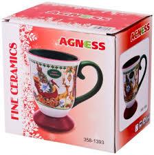 Конфетница в цветной коробке 12*12*13 см <b>Agness</b> (490-335 ...