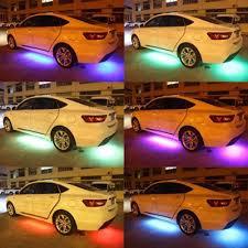UK <b>Car</b> RGB <b>LED</b> Neon Under Glow <b>Atmosphere</b> Chassis <b>Bar Strip</b> ...
