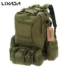 Lixada <b>50L</b> Camping Bags Camouflage <b>Outdoor Military</b> Molle ...