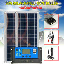 dokio brand 150w 18 volt solar panel china 10a 12 24 controller 150 watt panels cell module system charger battery