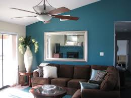 Paints Colors For Living Room Navy Blue Living Room Wall Will Looks Harmonious With Dark Brown