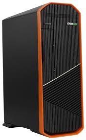 Компьютерный <b>корпус GameMax S702-O</b> 300W Black/orange ...