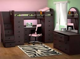 full size loft bed with desk underneath adult bed with office underneath
