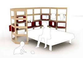 mother and baby modular bedroom furniture design parawall by hanna anne germany bedroom modular furniture