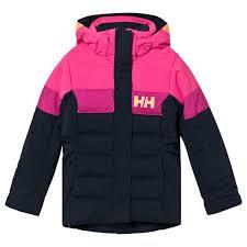 <b>Helly Hansen</b> - Color Block Junior Diamond <b>Winter Jacket</b> Black ...