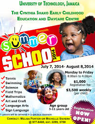 cynthia shako day early childhood education and daycare centre summer school