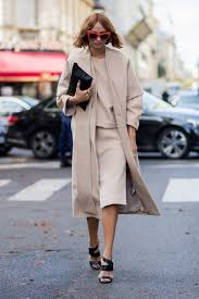 stylish and professional outfits to wear on a job interview cold weather winter interview outfit camel skirt coat