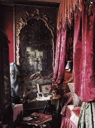 gothic bedroom design ideas