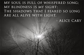 Kimberly J Fuller: The shadows I feared...