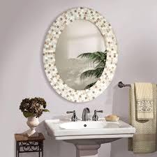 oval bathroom mirrors for traditional design onefortydeep bathroom mirrors