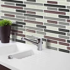 wall sticker pvc mosaic tile wallpaper bathroom