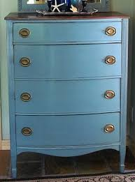 diy furniture restoration ideas. dresser with 2 different shades of blue paint diy furniture restoration ideas e