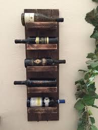 rustic wine rack  bottle wine rack wall mount wine rack