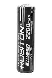 <b>Аккумулятор ROBITON 18650</b>-<b>2200mah</b> 3.7v с защитой