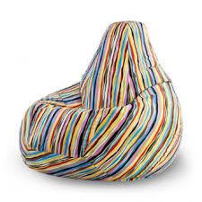 Кресло-мешок Papa Poof <b>Кресло</b>-<b>груша Жаккард</b> Маракеш ...