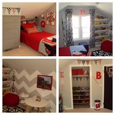 gym likable gray loft bedroom design in small room ideas with striking red bedding and gray bedside cabinet also gray white wavy wall and red couch and charming bedroom ideas red