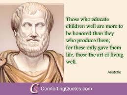 Aristotle On Education Quotes. QuotesGram via Relatably.com