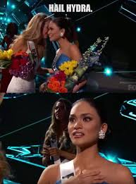 What Miss USA whispered to Miss Philippines : funny via Relatably.com