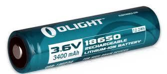 <b>Аккумулятор Olight</b> 18650 (Panasonic NCR18650B) 3,7 В 3400 mAh