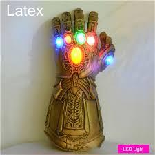 LED Light <b>Thanos Infinity Gauntlet Avengers Infinity War Cosplay</b> ...