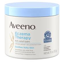 Aveeno <b>Eczema Therapy</b> Itch Relief Balm with Colloidal Oatmeal, 11 ...