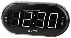 Радиобудильник <b>VITEK VT</b>-<b>6610</b> — купить по выгодной цене на ...