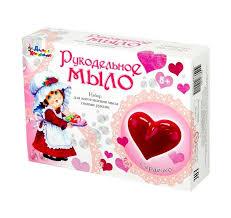 <b>Набор для изготовления</b> мыла Десятое королевство Сердечко ...