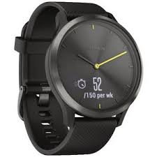 <b>Garmin Vivomove HR Sport</b> Smart Watch Large Black | Officeworks