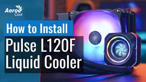 <b>AeroCool Pulse</b> L120F RGB Liquid Cooler - How to Install AMD ...