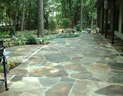 stone patio installation: we design and create a new patio walk ways stone walls etc