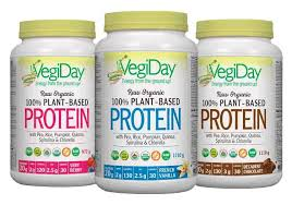 <b>Raw Organic Plant</b>-Based <b>Protein</b> | VegiDay US