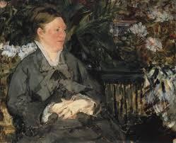 Madame Édouard Manet dans la serre