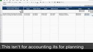 real estate transaction tracker spreadsheet template real estate transaction tracker spreadsheet template
