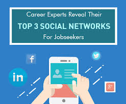 experts share their top social networks for job hunters job hunting using social media