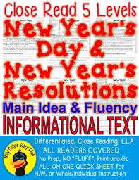 "<b>New</b> Year's Day & Resolution CLOSE READ 5 <b>LEVELS</b> ""NO <b>FLUFF</b> ..."